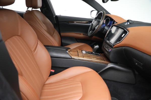Used 2018 Maserati Ghibli S Q4 GranLusso for sale $56,900 at Maserati of Westport in Westport CT 06880 21