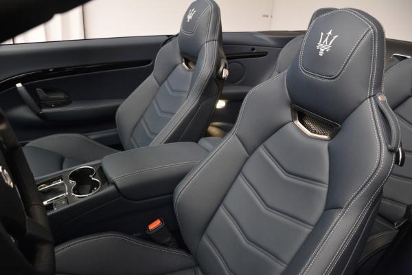 New 2016 Maserati GranTurismo Convertible Sport for sale Sold at Maserati of Westport in Westport CT 06880 22