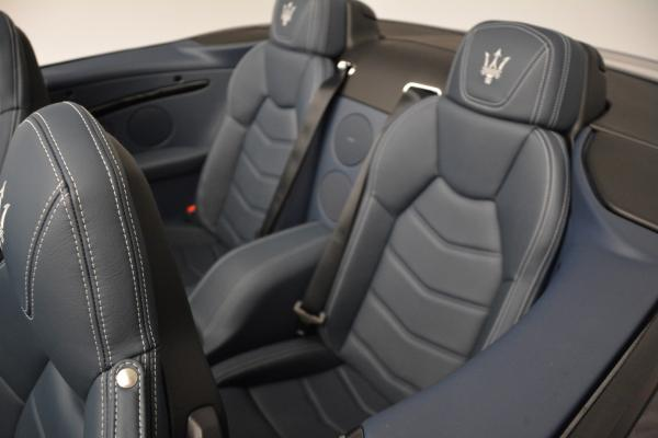 New 2016 Maserati GranTurismo Convertible Sport for sale Sold at Maserati of Westport in Westport CT 06880 25