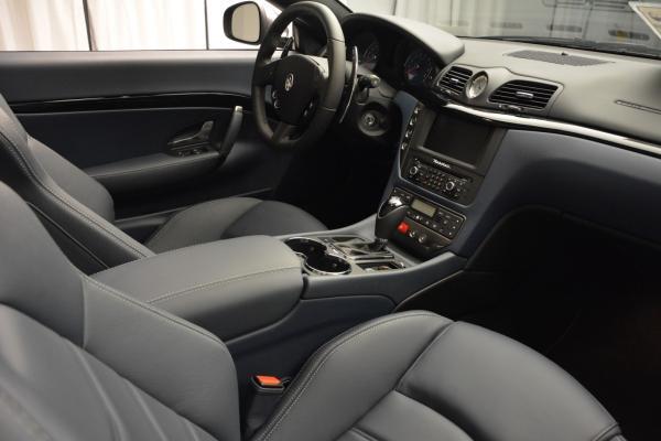 New 2016 Maserati GranTurismo Convertible Sport for sale Sold at Maserati of Westport in Westport CT 06880 27