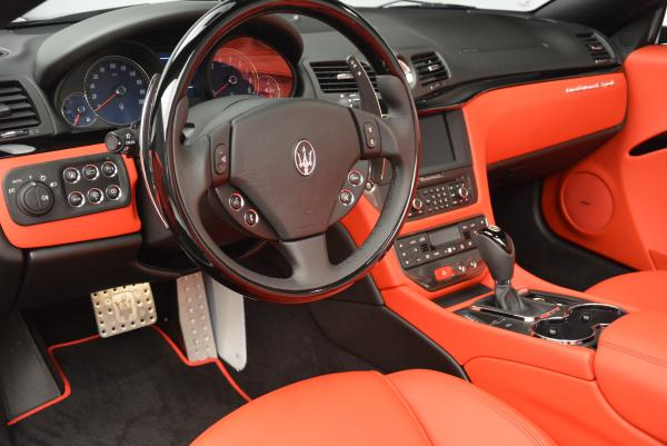 New 2016 Maserati GranTurismo Convertible Sport for sale Sold at Maserati of Westport in Westport CT 06880 25