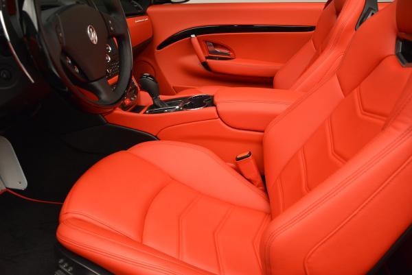 New 2016 Maserati GranTurismo Convertible Sport for sale Sold at Maserati of Westport in Westport CT 06880 26