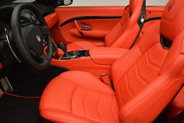 New 2017 Maserati GranTurismo Convertible Sport for sale Sold at Maserati of Westport in Westport CT 06880 18