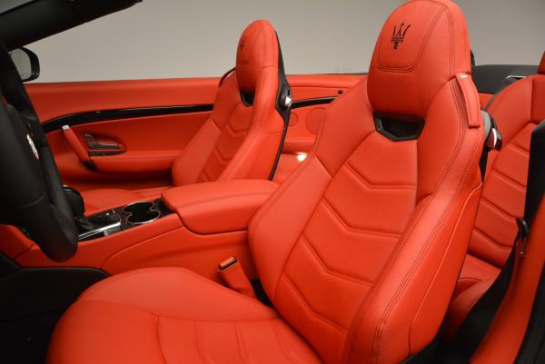 New 2017 Maserati GranTurismo Convertible Sport for sale Sold at Maserati of Westport in Westport CT 06880 19