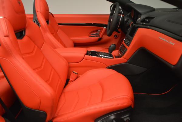 New 2017 Maserati GranTurismo Convertible Sport for sale Sold at Maserati of Westport in Westport CT 06880 24