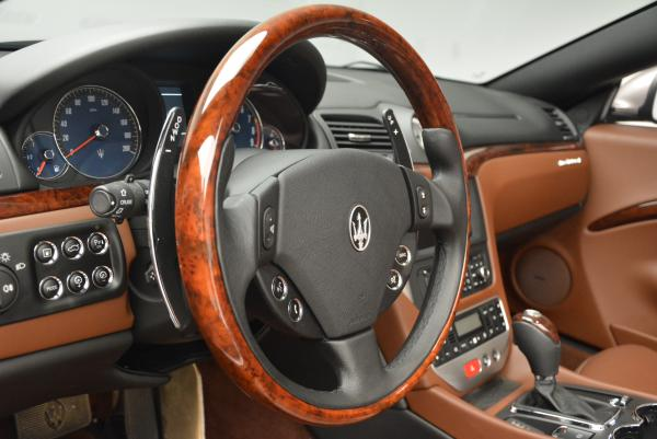 Used 2012 Maserati GranTurismo for sale Sold at Maserati of Westport in Westport CT 06880 24