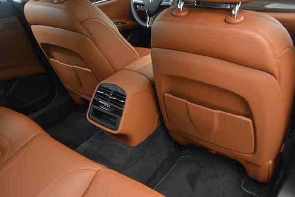 Used 2018 Maserati Quattroporte S Q4 GranLusso for sale Sold at Maserati of Westport in Westport CT 06880 21