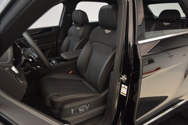 Used 2018 Bentley Bentayga Onyx for sale $145,900 at Maserati of Westport in Westport CT 06880 20