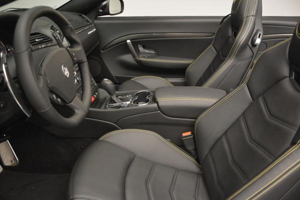 New 2017 Maserati GranTurismo Convertible Sport for sale Sold at Maserati of Westport in Westport CT 06880 22