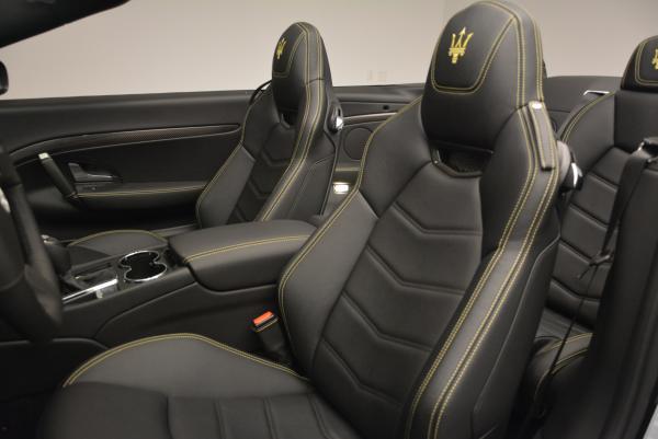 New 2017 Maserati GranTurismo Convertible Sport for sale Sold at Maserati of Westport in Westport CT 06880 23