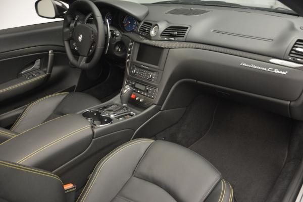 New 2017 Maserati GranTurismo Convertible Sport for sale Sold at Maserati of Westport in Westport CT 06880 25