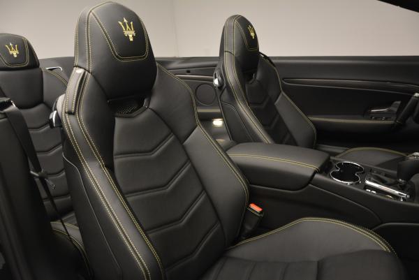 New 2017 Maserati GranTurismo Convertible Sport for sale Sold at Maserati of Westport in Westport CT 06880 27