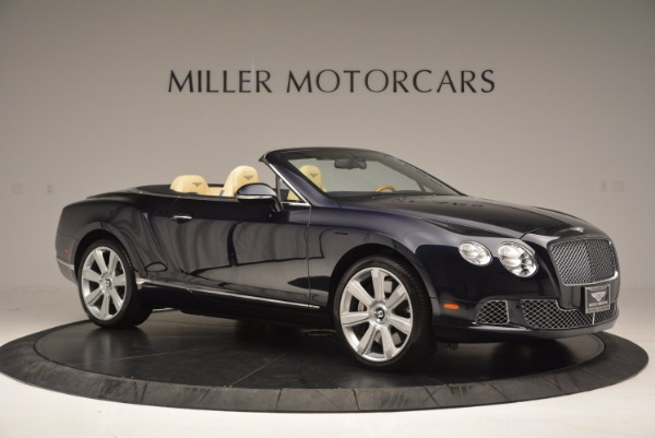 Used 2012 Bentley Continental GTC for sale Sold at Maserati of Westport in Westport CT 06880 10