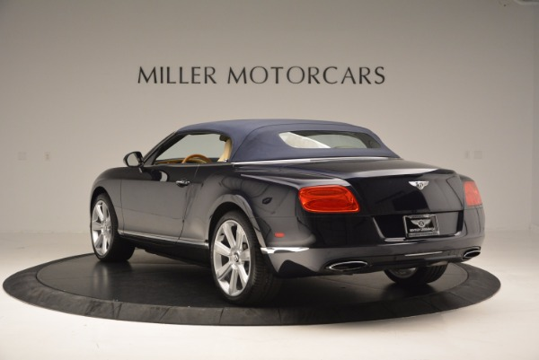 Used 2012 Bentley Continental GTC for sale Sold at Maserati of Westport in Westport CT 06880 18