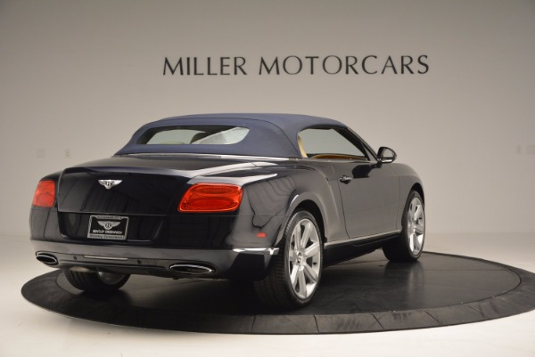Used 2012 Bentley Continental GTC for sale Sold at Maserati of Westport in Westport CT 06880 20