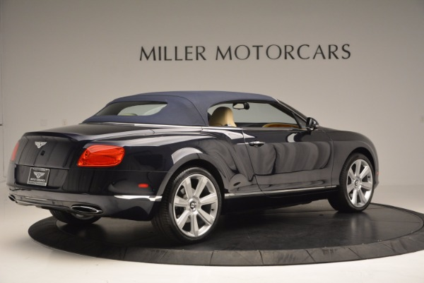 Used 2012 Bentley Continental GTC for sale Sold at Maserati of Westport in Westport CT 06880 21