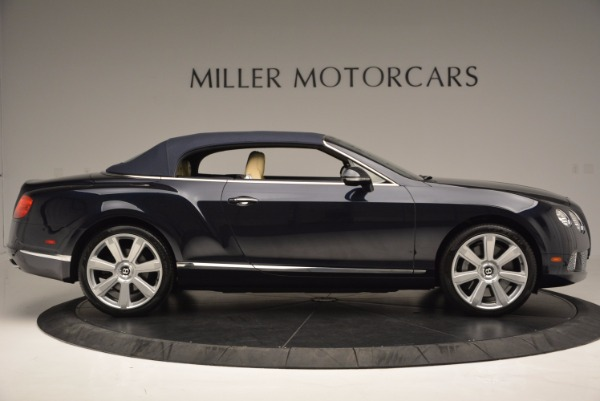 Used 2012 Bentley Continental GTC for sale Sold at Maserati of Westport in Westport CT 06880 22