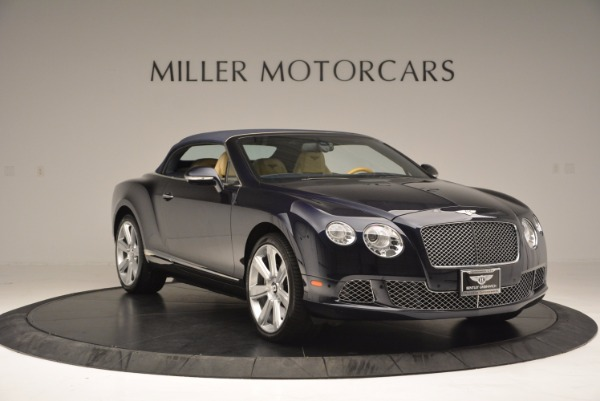 Used 2012 Bentley Continental GTC for sale Sold at Maserati of Westport in Westport CT 06880 24