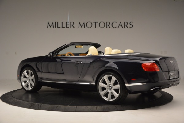 Used 2012 Bentley Continental GTC for sale Sold at Maserati of Westport in Westport CT 06880 4