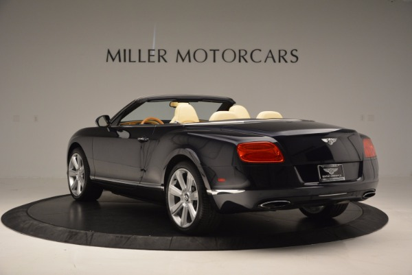 Used 2012 Bentley Continental GTC for sale Sold at Maserati of Westport in Westport CT 06880 5