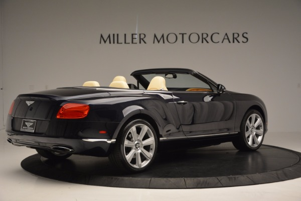 Used 2012 Bentley Continental GTC for sale Sold at Maserati of Westport in Westport CT 06880 8