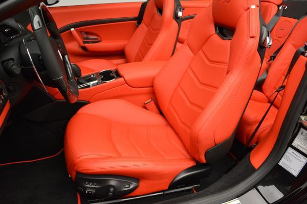 New 2016 Maserati GranTurismo Convertible MC for sale Sold at Maserati of Westport in Westport CT 06880 22