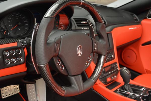 New 2016 Maserati GranTurismo Convertible MC for sale Sold at Maserati of Westport in Westport CT 06880 24