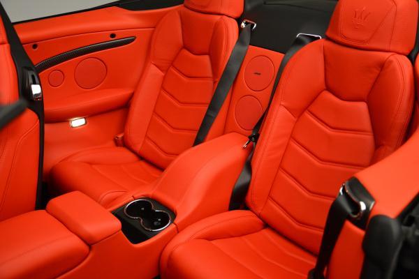 New 2016 Maserati GranTurismo Convertible MC for sale Sold at Maserati of Westport in Westport CT 06880 25