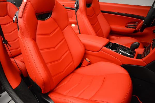 New 2016 Maserati GranTurismo Convertible MC for sale Sold at Maserati of Westport in Westport CT 06880 28