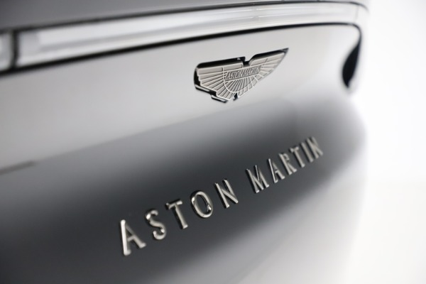 New 2020 Aston Martin DBX SUV for sale Call for price at Maserati of Westport in Westport CT 06880 27