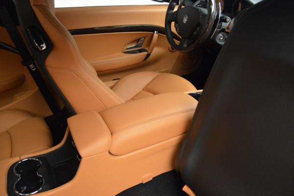 New 2016 Maserati GranTurismo Sport for sale Sold at Maserati of Westport in Westport CT 06880 24