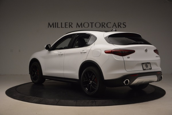 New 2018 Alfa Romeo Stelvio Sport Q4 for sale Sold at Maserati of Westport in Westport CT 06880 5