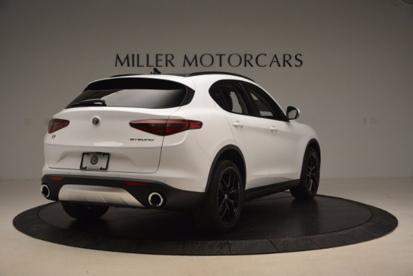 New 2018 Alfa Romeo Stelvio Sport Q4 for sale Sold at Maserati of Westport in Westport CT 06880 7