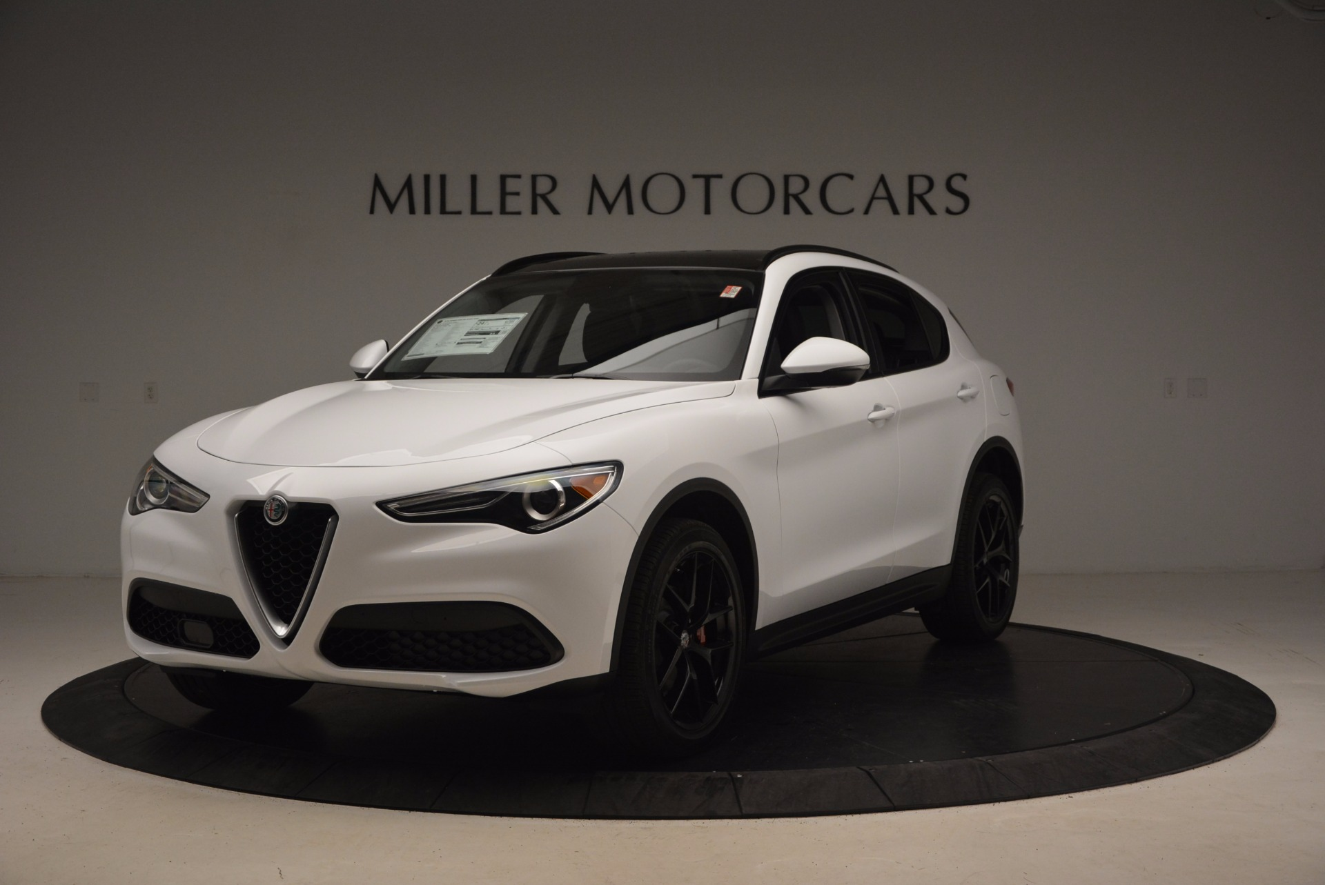 New 2018 Alfa Romeo Stelvio Sport Q4 for sale Sold at Maserati of Westport in Westport CT 06880 1