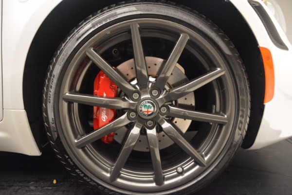 New 2018 Alfa Romeo 4C Coupe for sale Sold at Maserati of Westport in Westport CT 06880 21