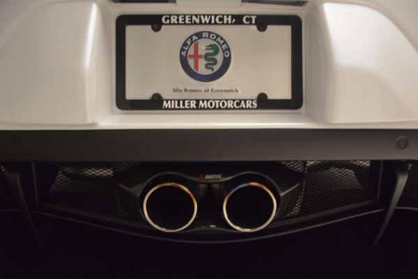 New 2018 Alfa Romeo 4C Coupe for sale Sold at Maserati of Westport in Westport CT 06880 22