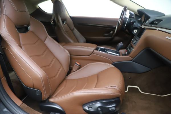Used 2016 Maserati GranTurismo Sport for sale $64,900 at Maserati of Westport in Westport CT 06880 21