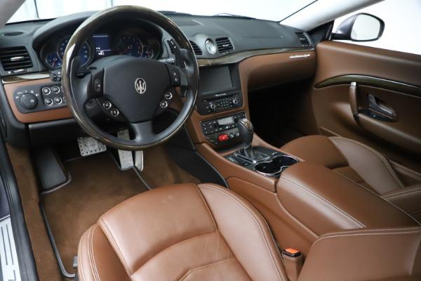 Used 2016 Maserati GranTurismo Sport for sale Sold at Maserati of Westport in Westport CT 06880 13