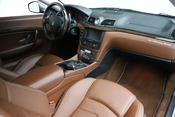 Used 2016 Maserati GranTurismo Sport for sale Sold at Maserati of Westport in Westport CT 06880 18