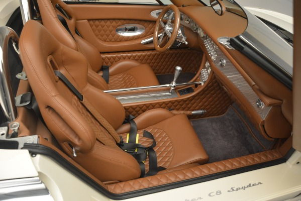 Used 2006 Spyker C8 Spyder for sale Sold at Maserati of Westport in Westport CT 06880 22