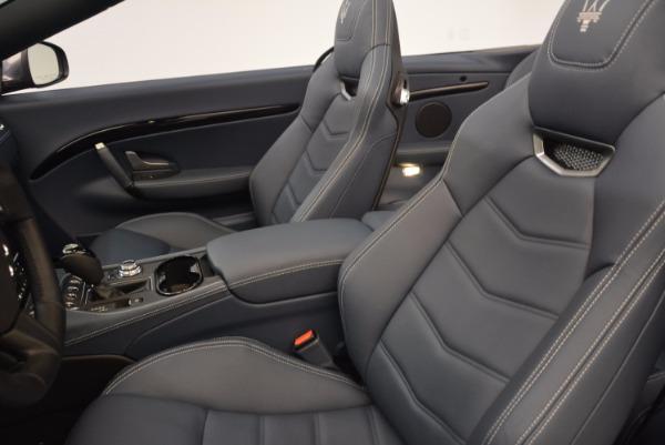 Used 2018 Maserati GranTurismo Sport Convertible for sale Sold at Maserati of Westport in Westport CT 06880 26