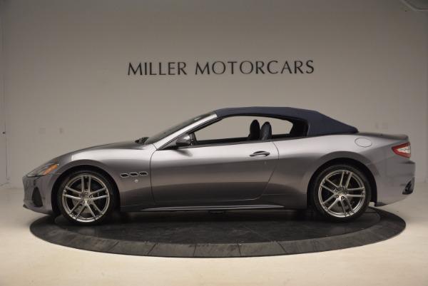 Used 2018 Maserati GranTurismo Sport Convertible for sale Sold at Maserati of Westport in Westport CT 06880 6