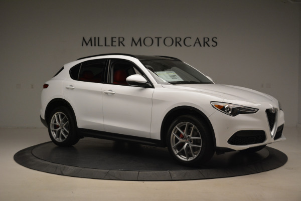 New 2018 Alfa Romeo Stelvio Sport Q4 for sale Sold at Maserati of Westport in Westport CT 06880 10