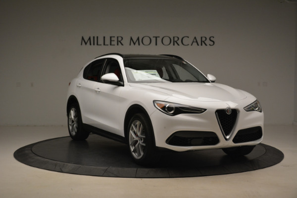 New 2018 Alfa Romeo Stelvio Sport Q4 for sale Sold at Maserati of Westport in Westport CT 06880 11
