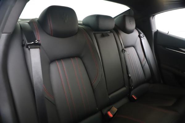New 2016 Maserati Ghibli S Q4 for sale Sold at Maserati of Westport in Westport CT 06880 21