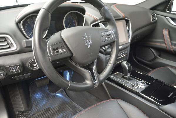 Used 2018 Maserati Ghibli S Q4 for sale Sold at Maserati of Westport in Westport CT 06880 14