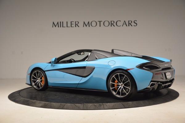 New 2018 McLaren 570S Spider for sale Sold at Maserati of Westport in Westport CT 06880 4
