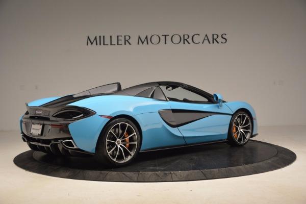 New 2018 McLaren 570S Spider for sale Sold at Maserati of Westport in Westport CT 06880 8