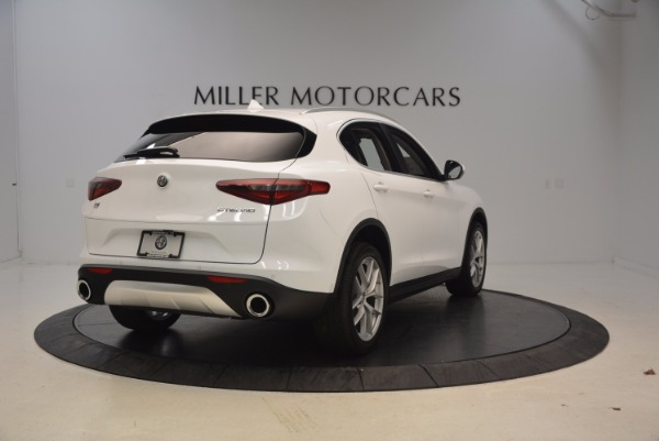 New 2018 Alfa Romeo Stelvio Ti Sport Q4 for sale Sold at Maserati of Westport in Westport CT 06880 7