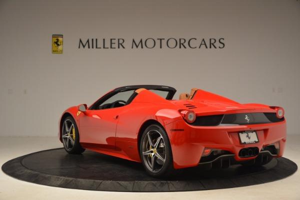 Used 2013 Ferrari 458 Spider for sale Sold at Maserati of Westport in Westport CT 06880 5
